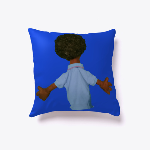 Mercedes Jones Pillow Royal Blue T-Shirt Back