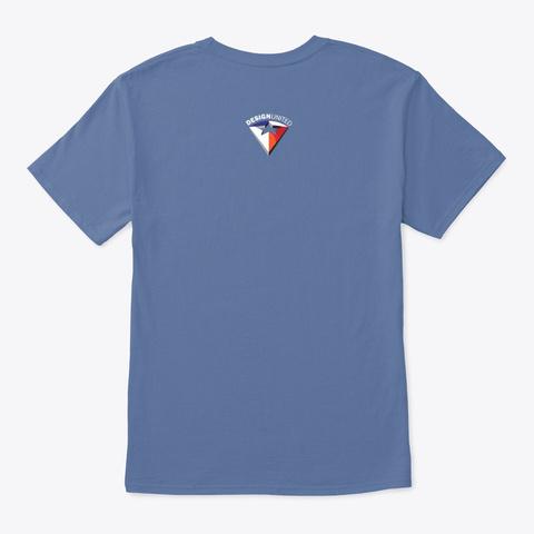 Uup  – The Alien Element Denim Blue T-Shirt Back