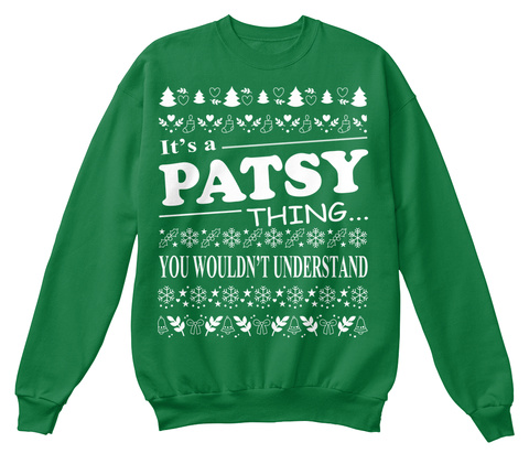 It's A Pasty Thing You Wouldn't Understand Kelly Green  T-Shirt Front