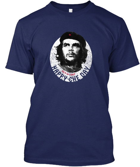 Happy Che Day Navy T-Shirt Front