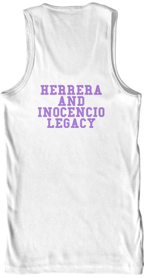 Herrera And Inocencio Legacy White T-Shirt Back