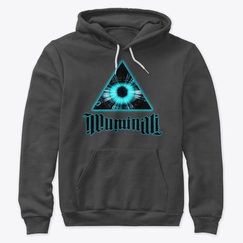 Illuminati Confirmed Dark Grey Heather T-Shirt Front