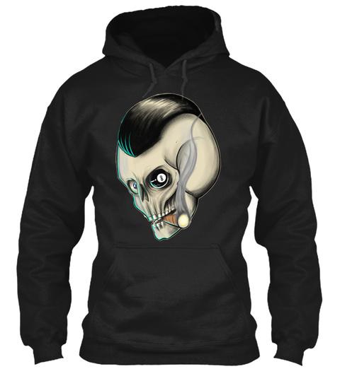 Skull 23 Shirt Black T-Shirt Front