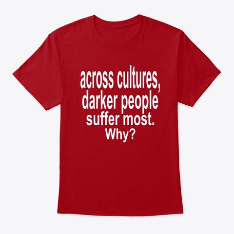 across cultures darker t shirt