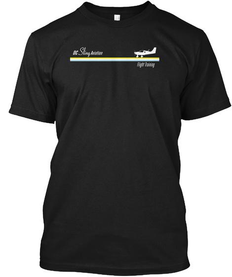 Oc Sling Retro 70s On Dark T Shirt Black T-Shirt Front
