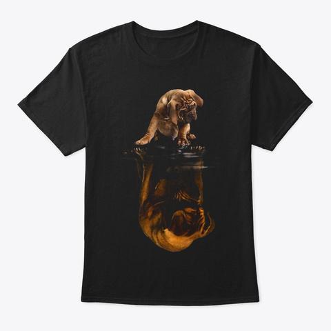 Dogue De Bordeaux 2 Black T-Shirt Front
