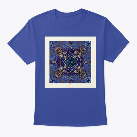 Beginner's Guide   Apparel Deep Royal T-Shirt Front