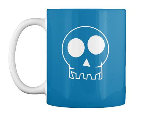 Halloween Skulls 2016   Mug Royal Blue T-Shirt Front