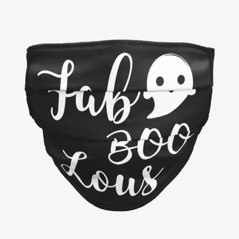 Fab Boo Lous Black T-Shirt Front