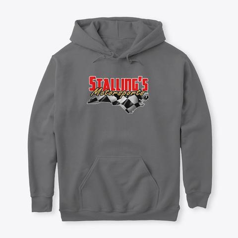 Stallings Motorsports 2019 Dark Heather Camiseta Front