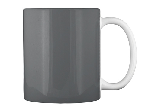 0/I Dark Grey Mug Back