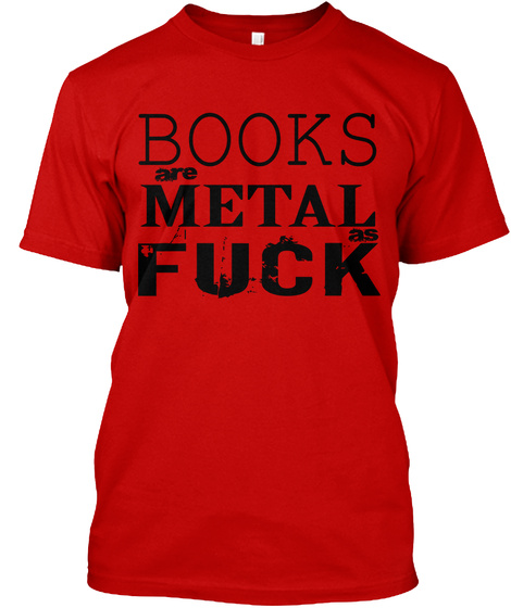 Metal As 2016 Classic Red T-Shirt Front