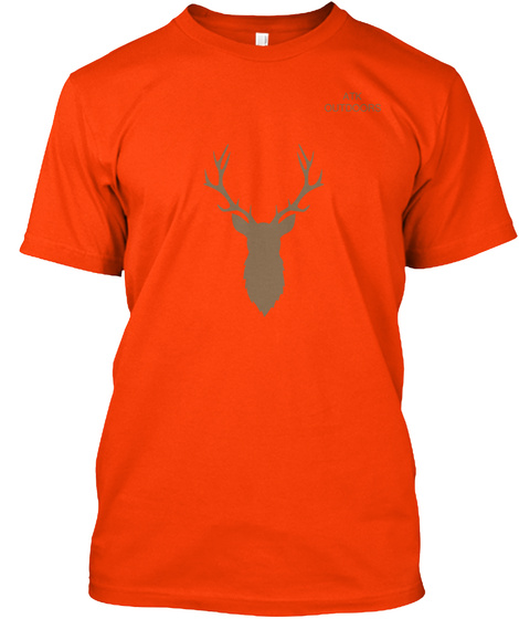 Atk Outdoors Orange T-Shirt Front