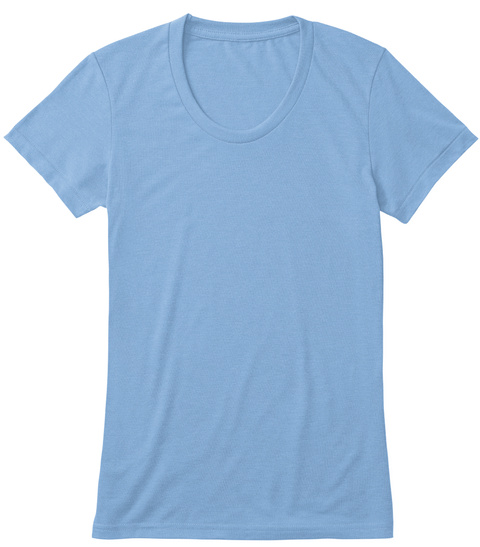 The Fucmazing!™ Tee Athletic Blue T-Shirt Front