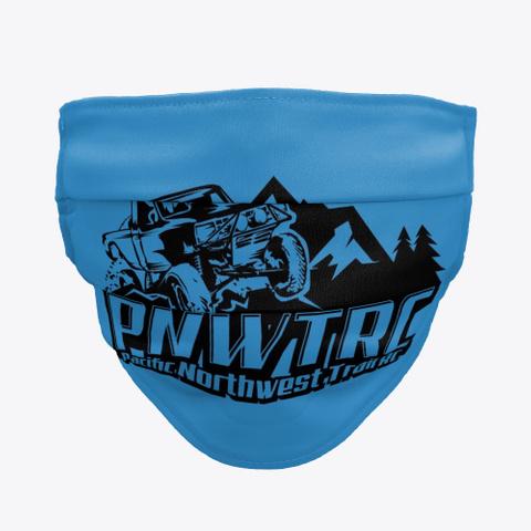 Pnwtrc Covid Dark Denim Blue T-Shirt Front