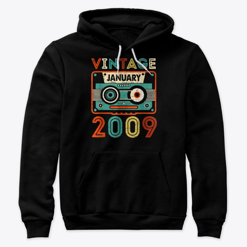 11Th Birthday Gifts Vintage January SweatShirt