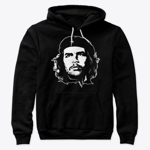 Che Guevara Fan T Shirt Black T-Shirt Front