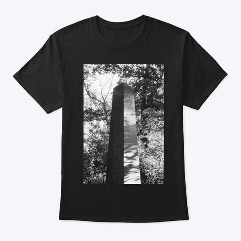 Obelisk 1 Black T-Shirt Front