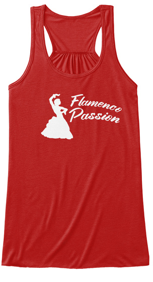 Flamence Passion Red T-Shirt Front
