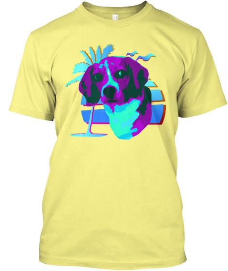 Sadie 2017 Lemon Yellow  T-Shirt Front