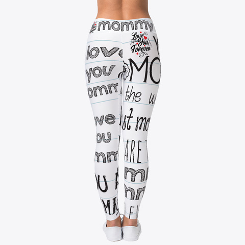 Leggings For Mother Standard T-Shirt Back