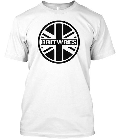 Britwres White T-Shirt Front