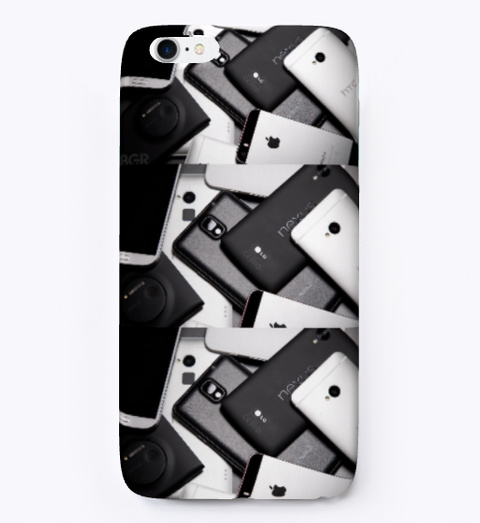 Awesome Phone Case Design Aqua T-Shirt Front