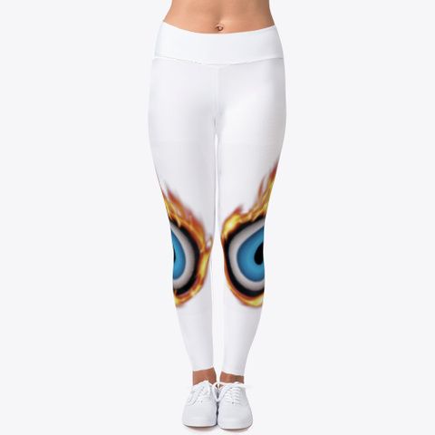 Oculus Heat   White Yoga Pants Standard T-Shirt Front