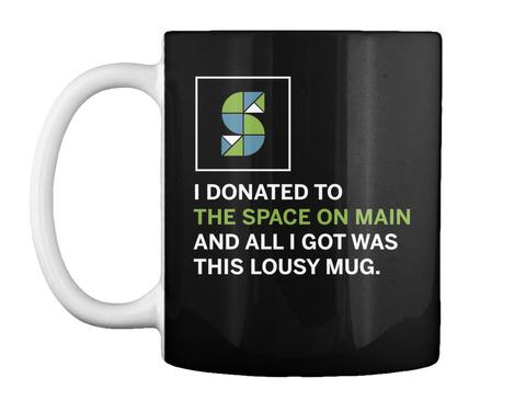 Som Lousy Mug Dark Black Mug Front