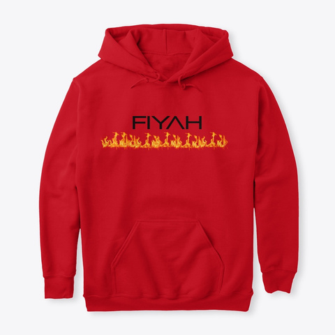 Flamin Fiyah Red T-Shirt Front