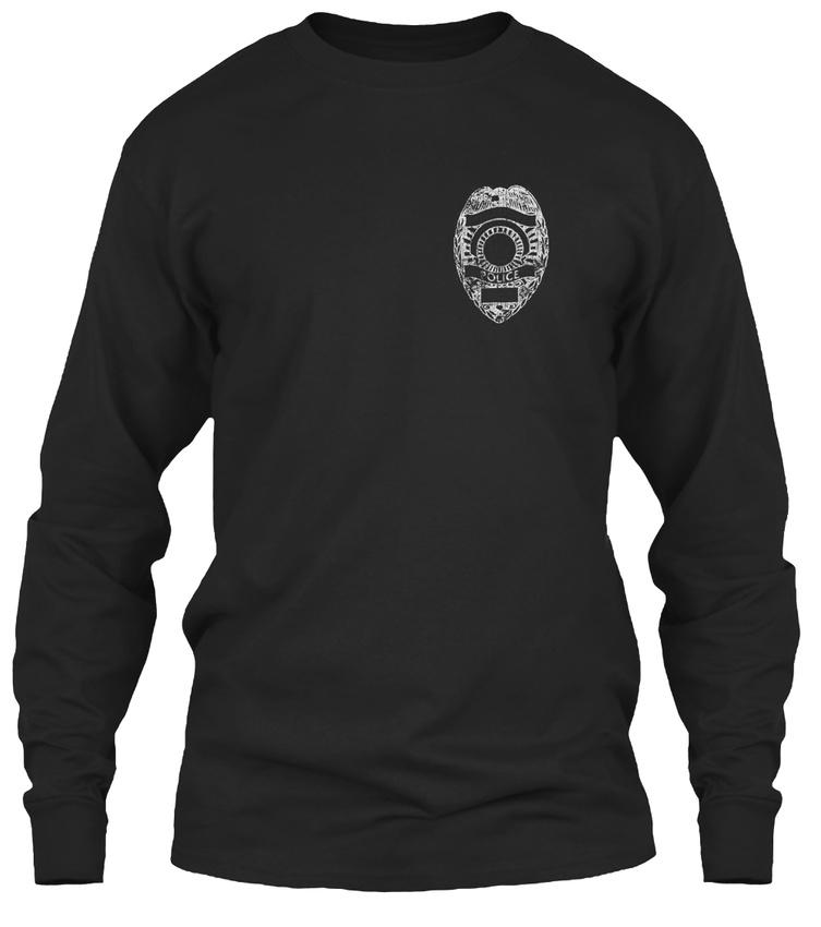 Thin-Blue-Line-Unappreciated-Gildan-Long-Sleeve-Tee-T-Shirt thumbnail 6