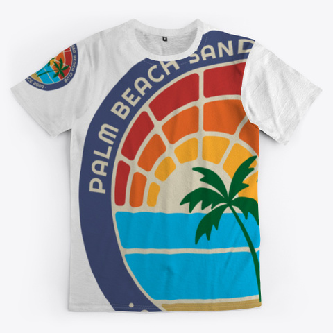 Palm Beach Sandbar Beach Club Standard T-Shirt Front