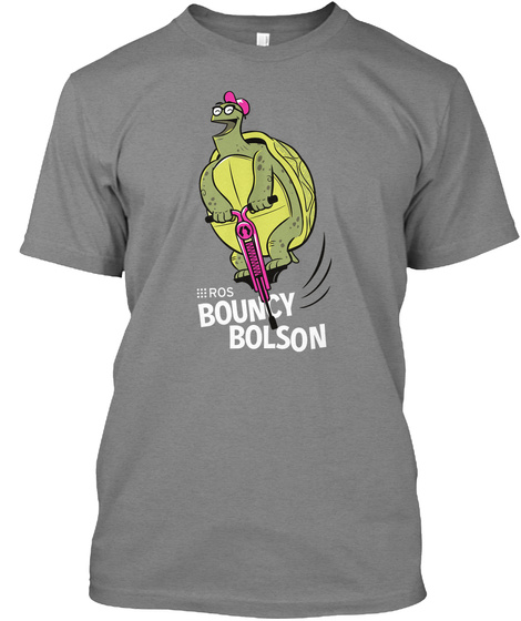 Ros Bouncy Bolson Premium Heather T-Shirt Front