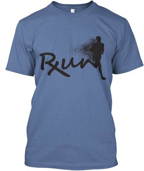 Rxun Denim Blue T-Shirt Front