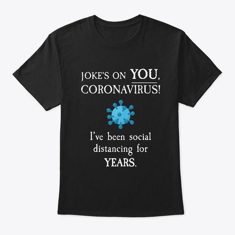 Funny Coronavirus Shirts Or Mug Black Camiseta Front