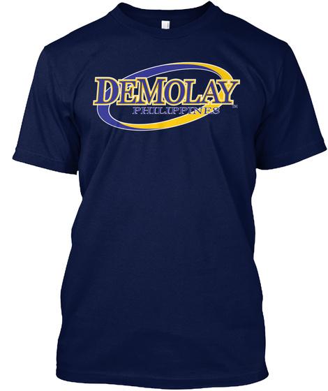 Pinoy Demolay  Navy T-Shirt Front
