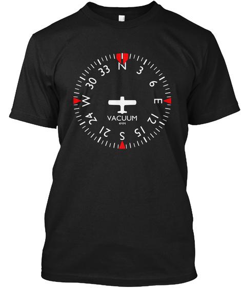 Vaccum 4hm Black T-Shirt Front