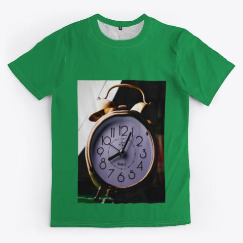 Clock Green T-Shirt Front