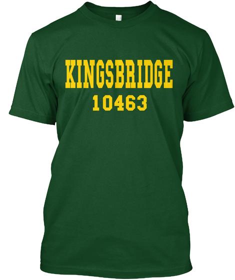 Kingsbridge 10463 Deep Forest T-Shirt Front