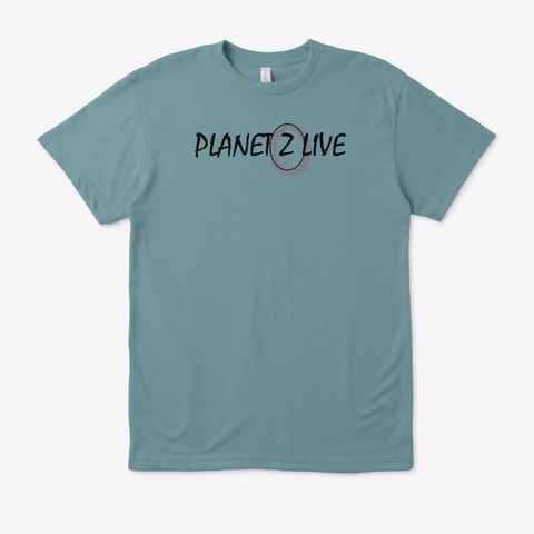 Planet Z Live Summer One Heather Pacific T-Shirt Front