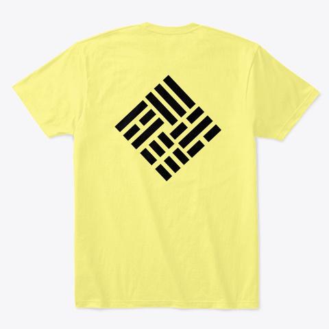 Taekwondo Nouveau 3 Lemon Yellow  T-Shirt Back