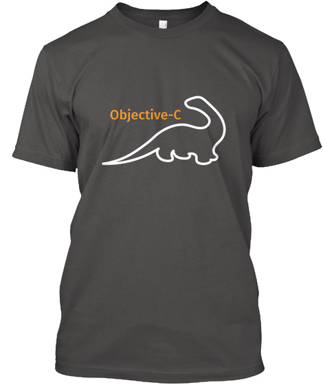 Objective C Charcoal T-Shirt Front