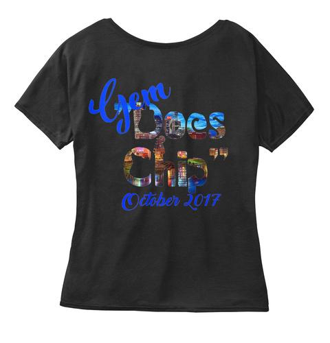 Gem Does Chip October 2017 Black Camiseta Back