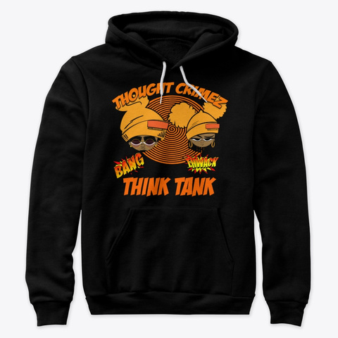 Think Tankz Black T-Shirt Front
