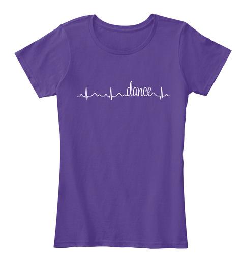 Dance Purple T-Shirt Front