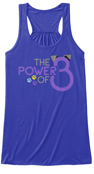 The Power Of 3 True Royal T-Shirt Front