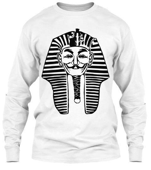 Anonym Pharaoh White T-Shirt Front