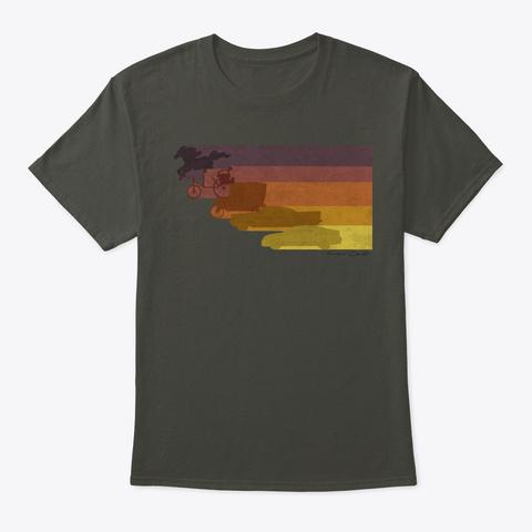 Evolution Of Transportation Smoke Gray T-Shirt Front