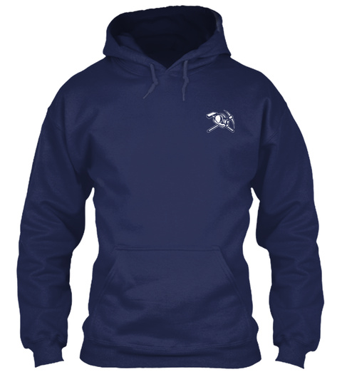 O/L Navy T-Shirt Front