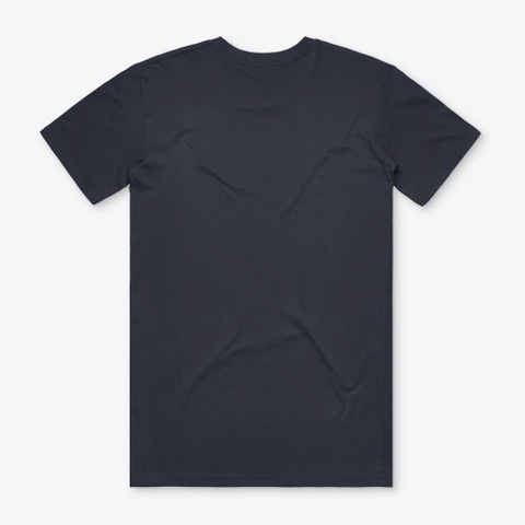 The Uncommon Valley Navy T-Shirt Back